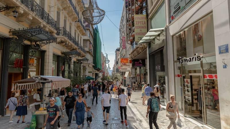 Shopping in Monastiraki