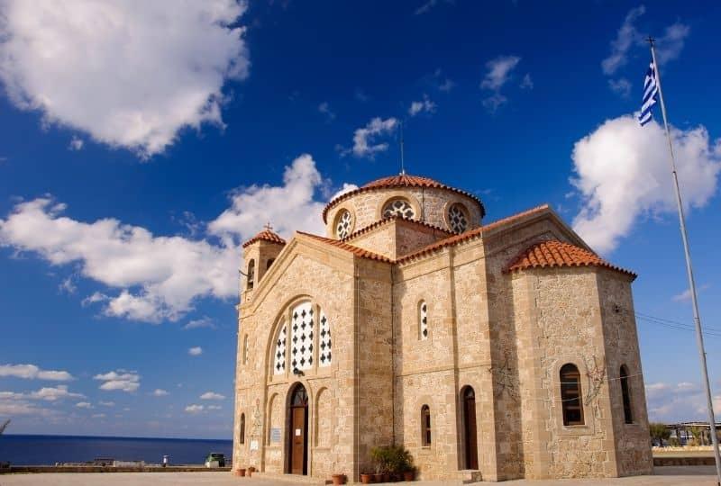 things to do in Andros Greece: Agios Georgios Church