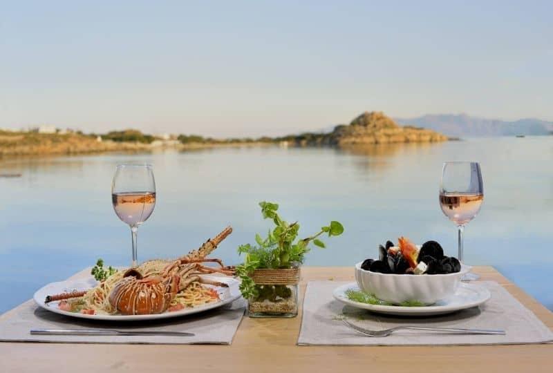 Platis Gialos - Blue Myth restaurant