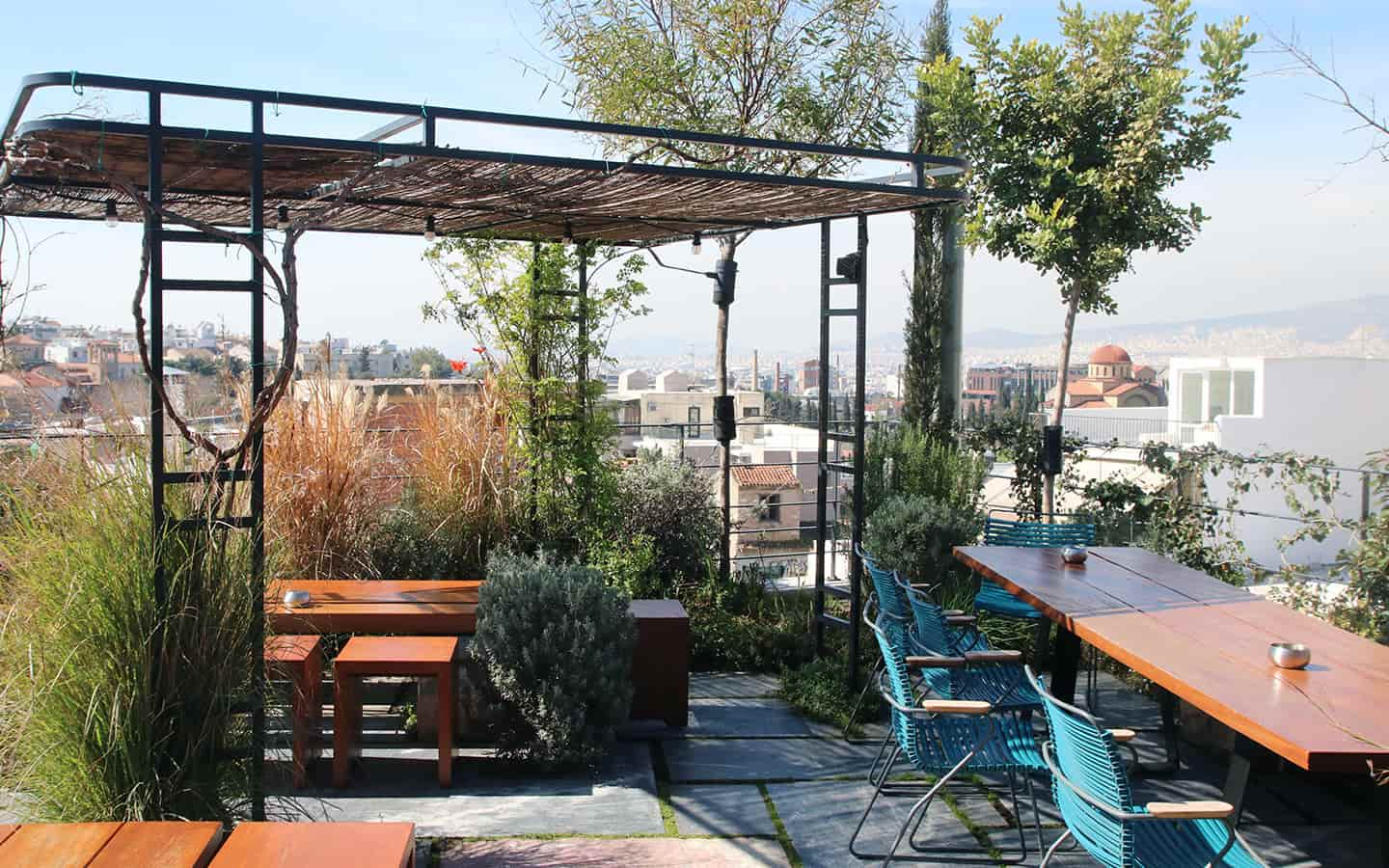 The Foundry Suites, an eco-friendly hotel in Athens