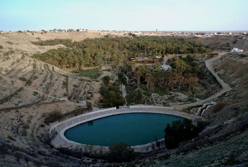 Corbeille Nefta Tunisia