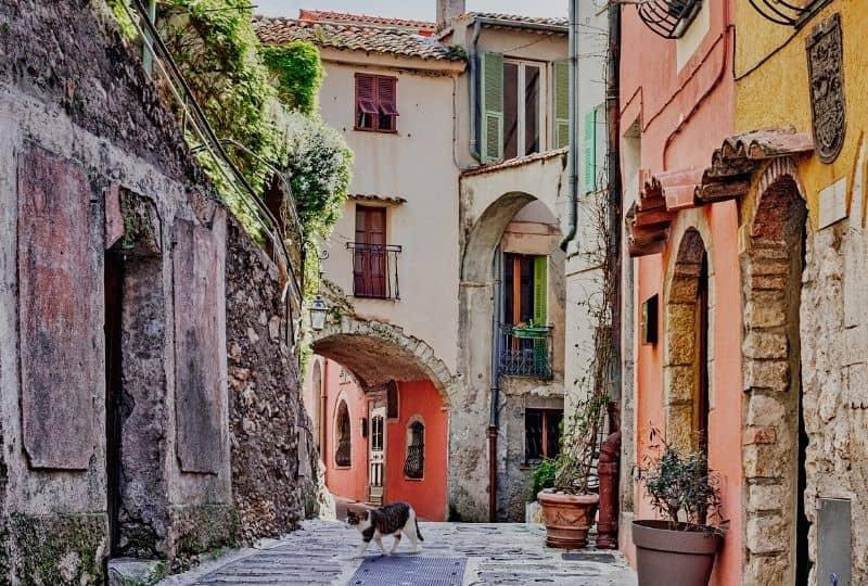 French Riviera Roquebrune-Cap-Martin France